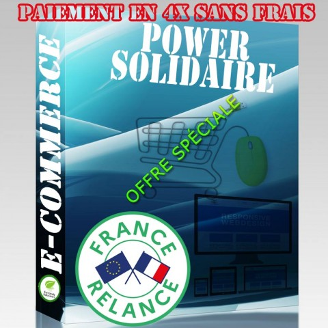 PACK POWER - SOLIDAIRE